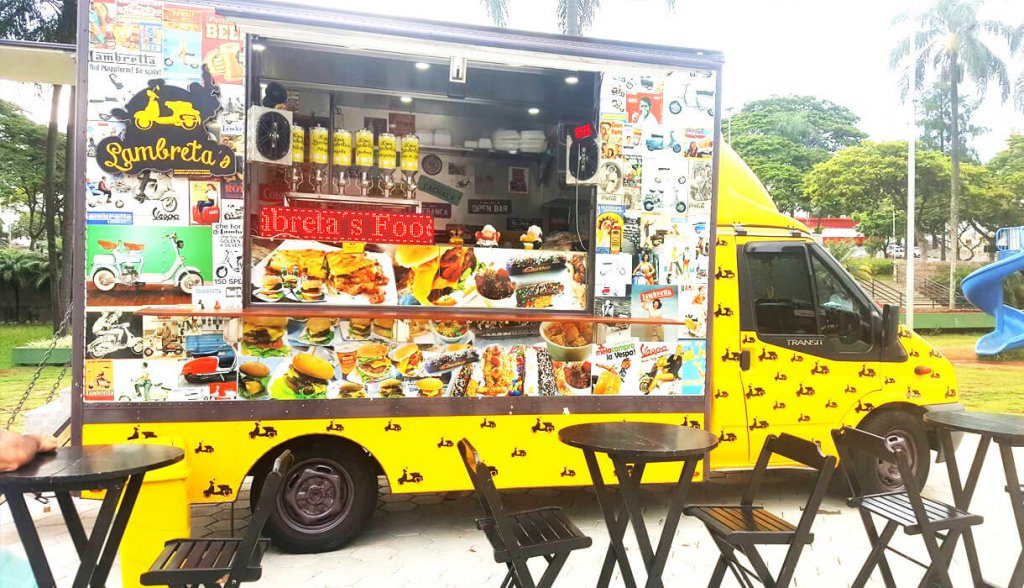 Food Trucks no interior - lambretas-food-truck